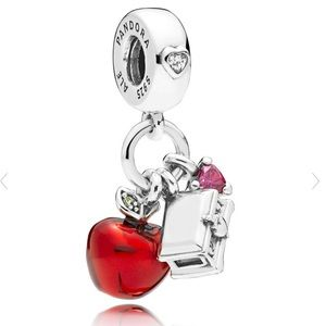 New Pandora Disney Snow White's Apple & Heart